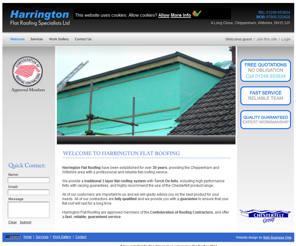 Harrington Flat Roofing Specialists Ltd